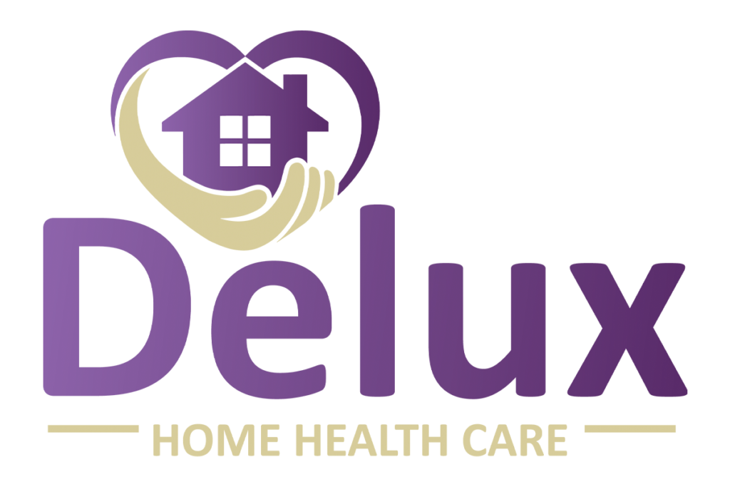 Delux Home Health Care Logo