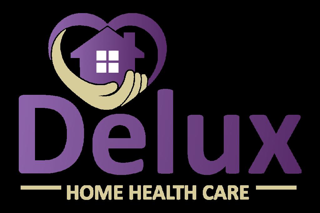 Delux Home Health Care Logo